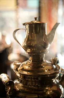 The Samovar Salon Series