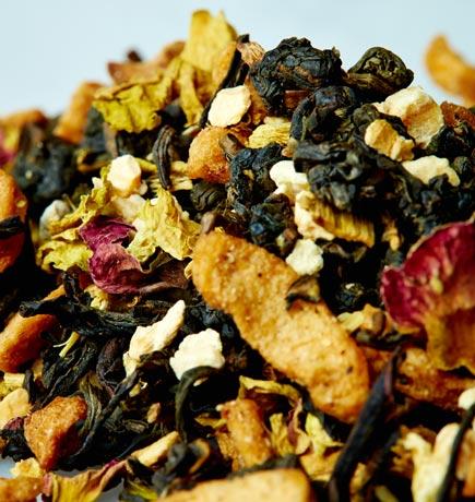 Apple Ginseng Oolong tea leaves