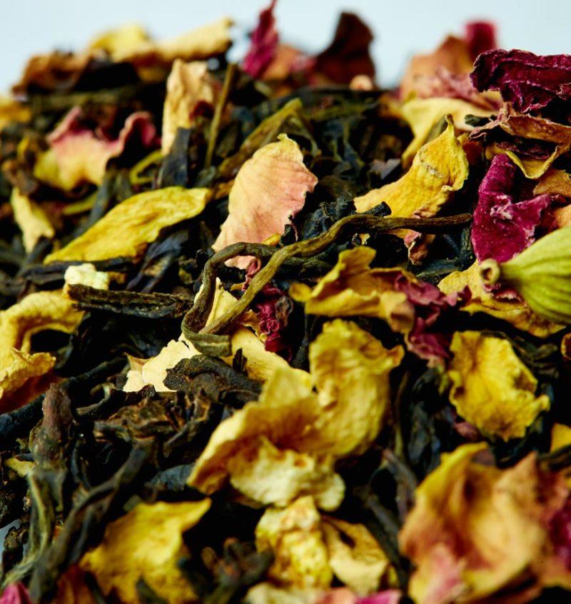 Organic California Persian Black tea and Rose - Ingredients
