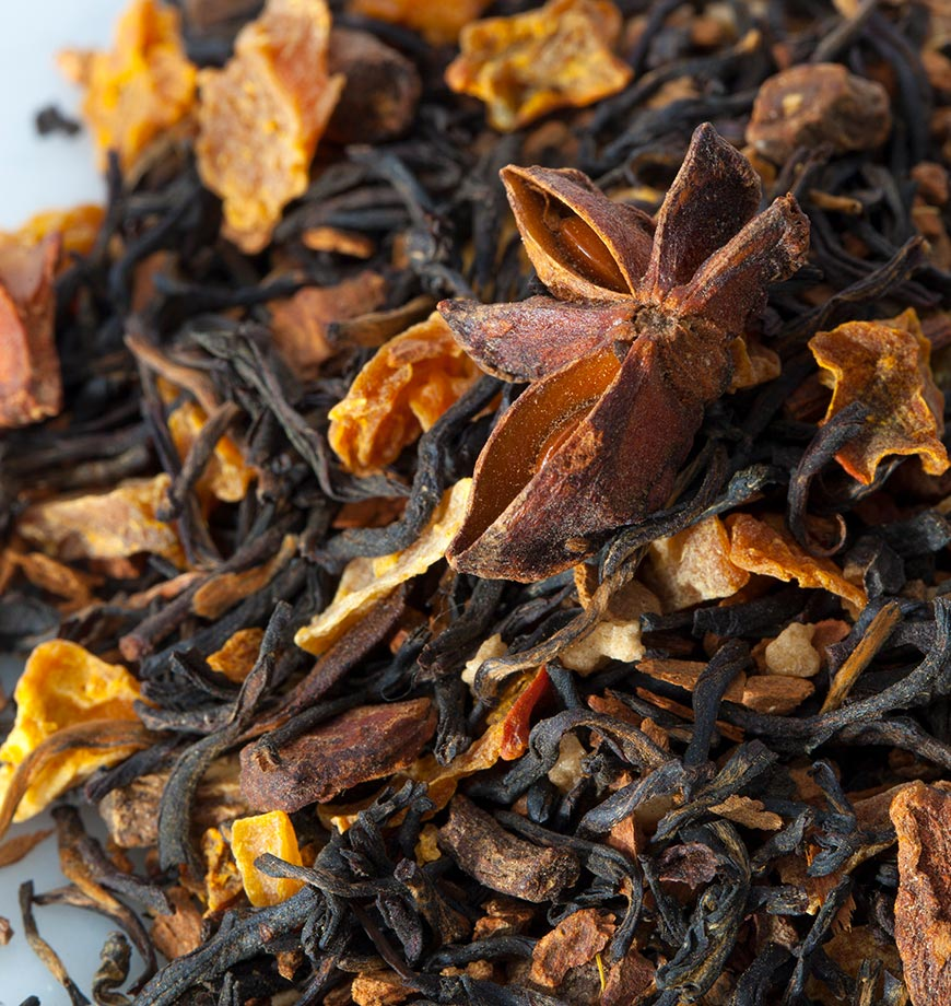 Organic Pumpkin Chai Ingredients