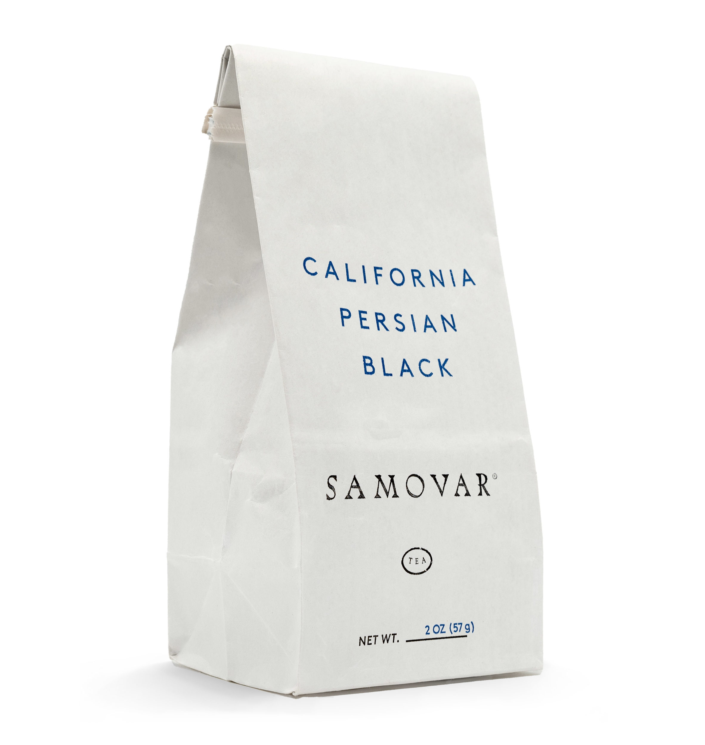 California Persian - White Bag - Front - 0402CAPEBG