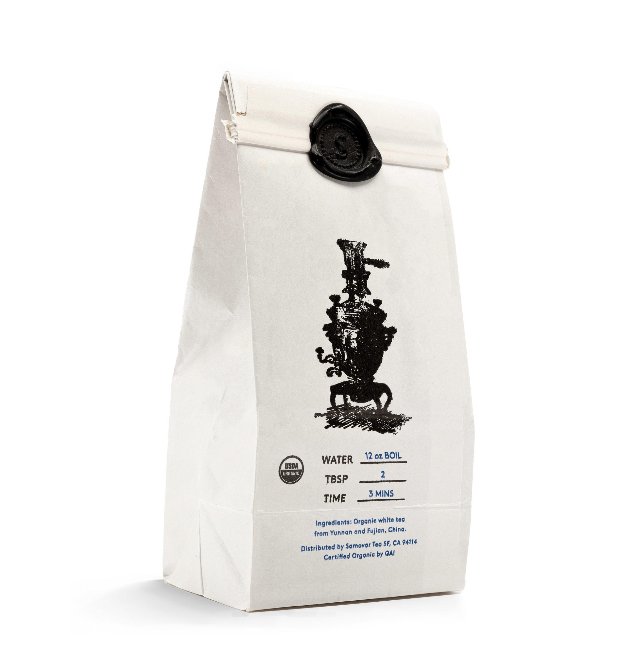 Downy Sprout - White Bag - Back - 0101DOSPBG
