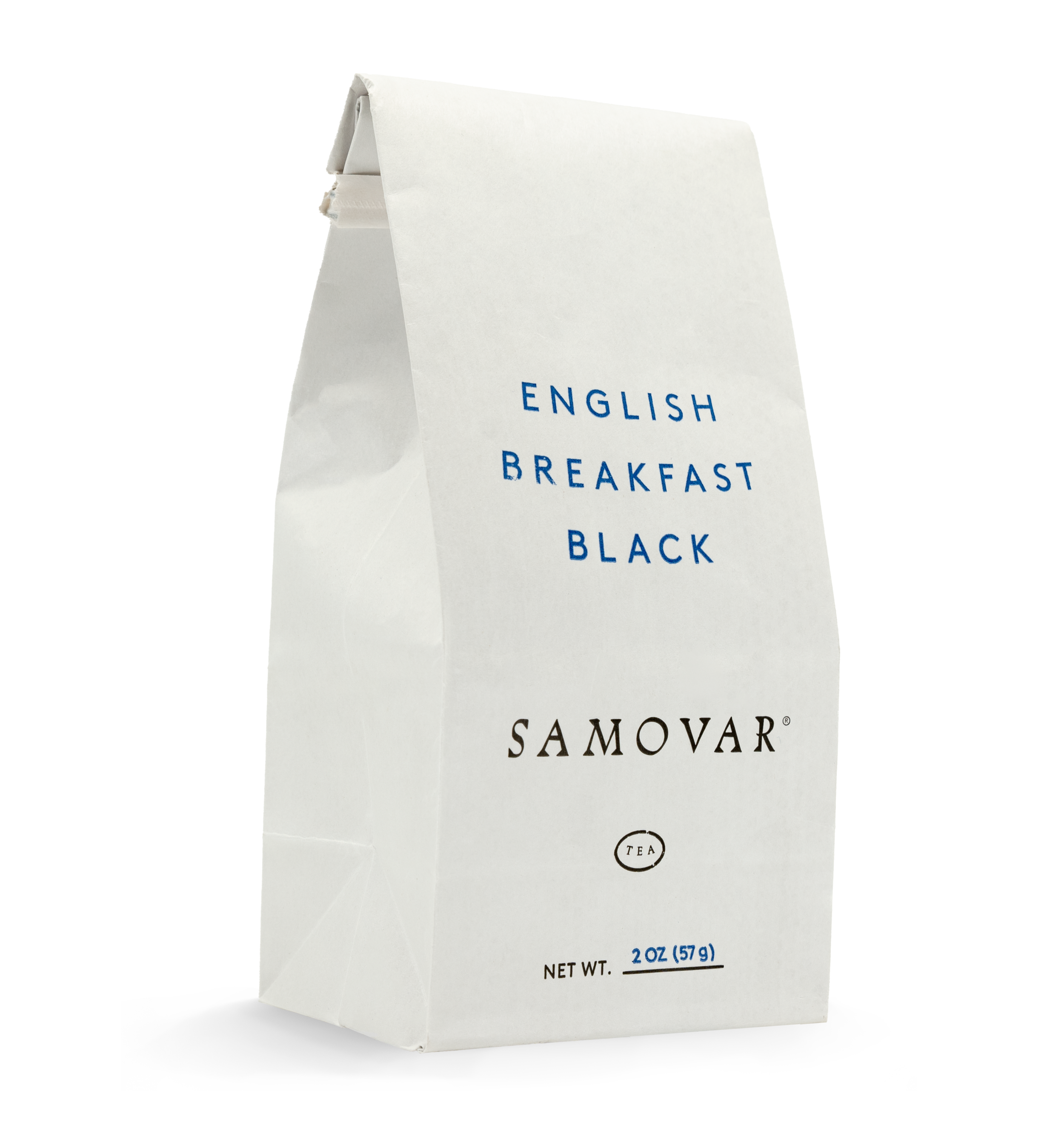 English Breakfast - White Bag - Front - 0401BRBLBG