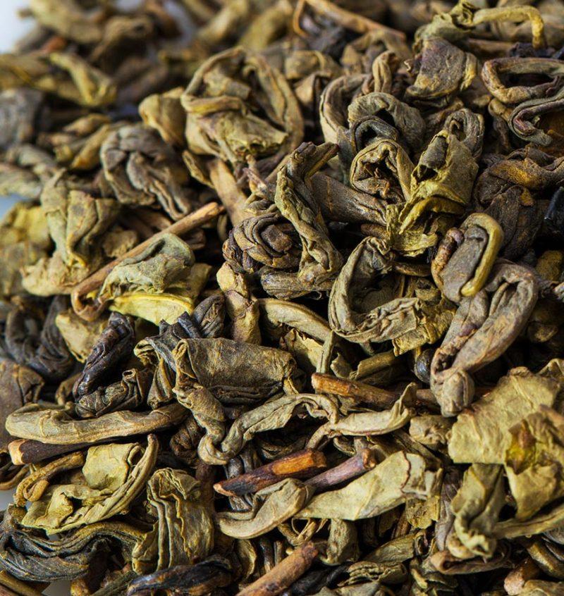 Organic Gunpowder Green Tea