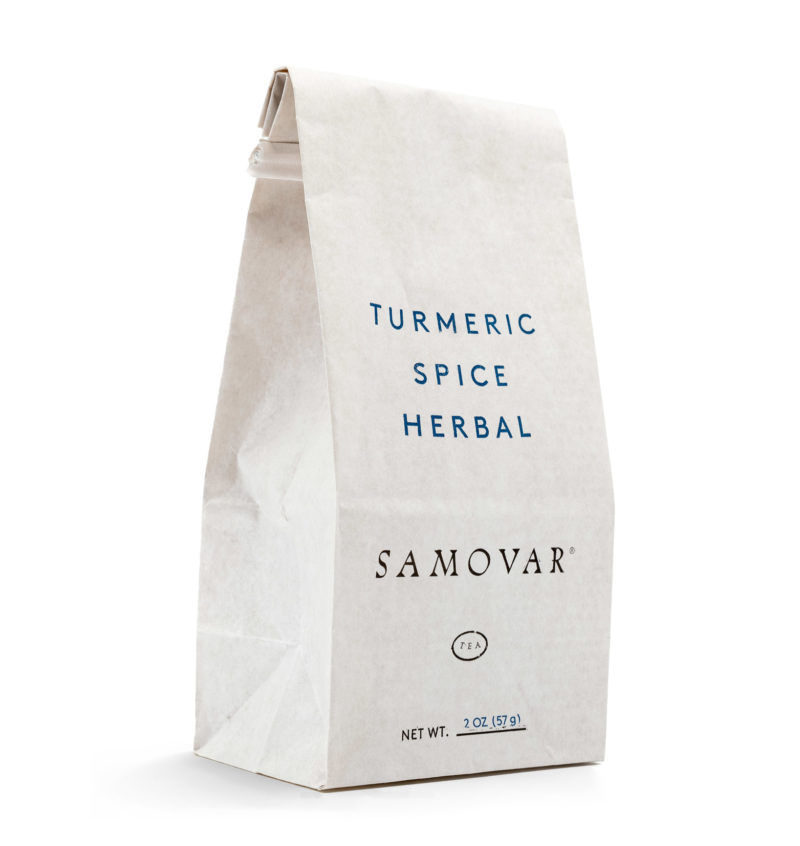 Turmeric Spice - White Bag - Front - 0602TUSPBG