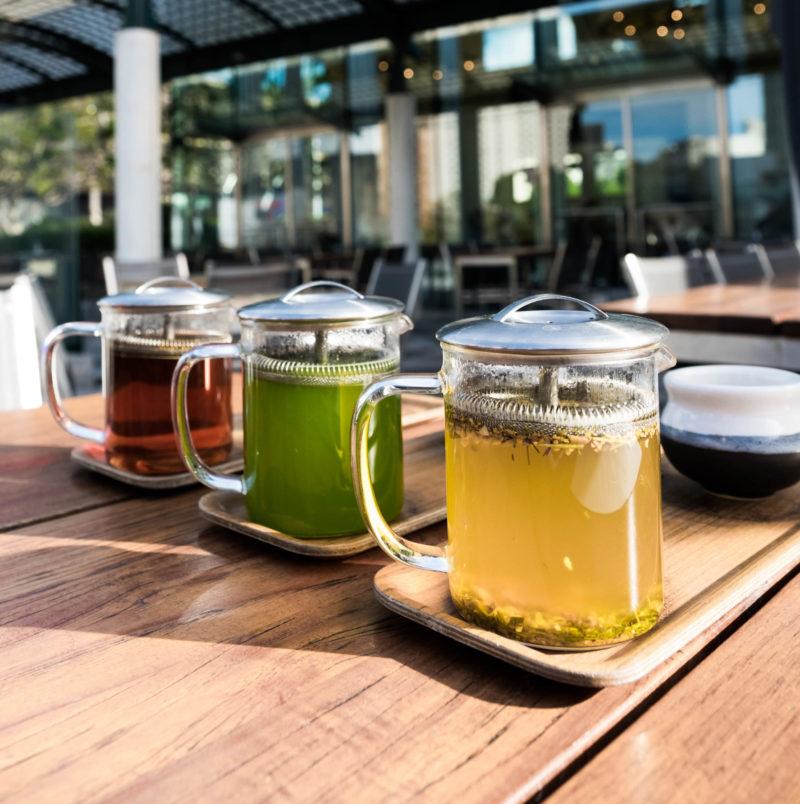 Vivid Brew, Turmeric Spic, Ryokucha, Earl Grey