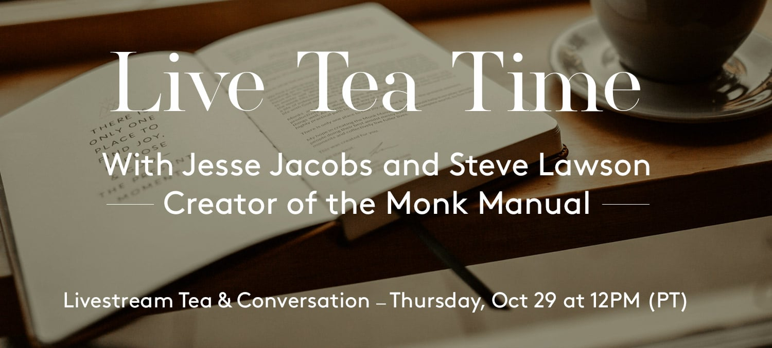 Live Tea Time with Steve Lawson